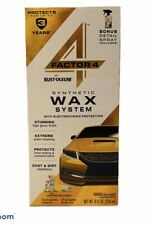 Rust-Oleum FACTOR 4 SYNTHETIC WAX SYSTEM DEEP WASH SHINE DUST/DIRT REPELLANT Car