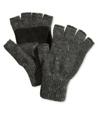 $125 RYAN SEACREST Men's GRAY FINGERLESS WINTER GLOVE DONEGAL ATHLETIC One Size