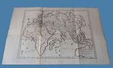 Carte de l'Ancien Continent Ancienne Grece Anacarsi ANACHARSIS Frere du Roi