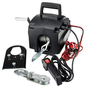 Elektrische Seilwinde ATV Quadwinde Elektrowinde Motorwinde 12V 2000lbs - 907kg
