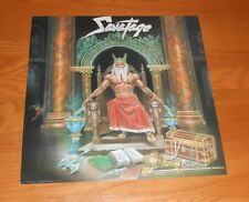 Savatage Hall of the Mountain King 2-Sided Flat Promo 1987 Poster 12x12 RARE