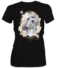 Señora camisa havaneser Signature Dogs motivo by siviwonder