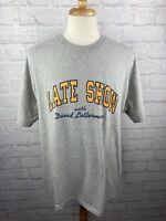 VTG Late Show With David Letterman Vintage T Shirt 1990's TV Night Talk Show LG
