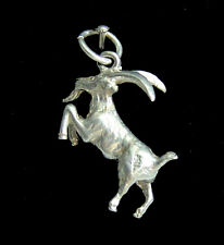 Goat Capricorn sterling silver 925 charmmakers charm 3D