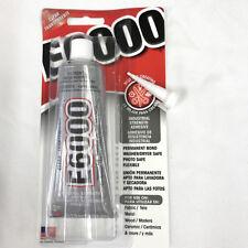 1 x E6000 - 3.7 fl oz Tube - Clear + 1 x Bonus Nozzle + Free Postage