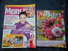 Zeitschriften, Meins  Heft 21  und Ratgeber  Heft 10 ,   aus 2018