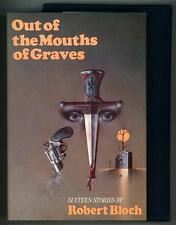 Out of the Mouths of Graves by Robert Bloch Signed, Limited- High Grade