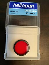 Heliopan Red 25 E30.5 coated filter