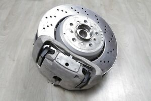2013 BMW M3 FRONT RIGHT HUB AXLE BRAKE CARRIER ASSEMBLY 2008-2013 E90 E92 E93
