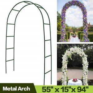 Metal Arch Wedding Arch Garden Bridal Party Garden Arbors for Climbing Plants