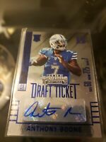 Anthony Boone 2015 Panini Contenders Draft Picks Draft Ticket Auto Autograph