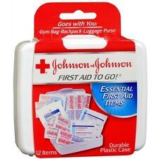 J&J Red Cross Mini First Aid Kit To Go
