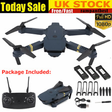 Drone X Pro WIFI FPV 4K/1080P Camera 3 Batteries Foldable Selfie RC Quadcopter X