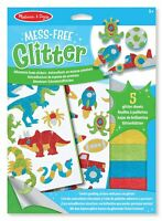 Melissa and Doug Mess-Free Glitter Activity Kit - Adventure - (BNIB) - 19501