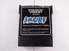 Smurf Rescue in Gargamel's Castle Colecovision 1982 Vtg Video Game Cartridge
