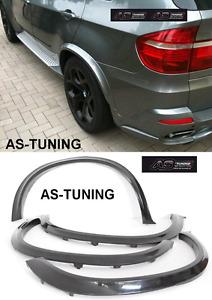 Radlaufverbreiterung Radlaufblenden passend für BMW X5 E70 + Einbaumaterial