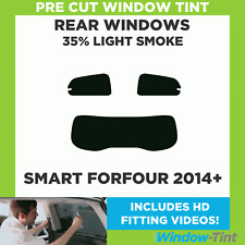 Pre Cut Window Tint - Smart Forfour 2014+ - 35% Light Rear