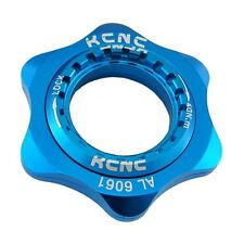 KCNC AL6061 Bike Bicycle Disc Brake Center Lock Adapter for Shimano - BLU