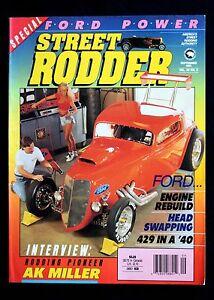 STREET RODDER MAGAZINE - SEPTEMBER 1991 - Ford Engine Rebuild