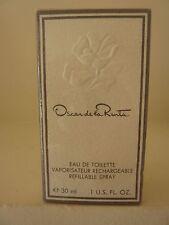Vintage Oscar de la Renta Eau de Toilette Rechargeable Refillable Spray 1oz  NIB