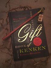 Set: Gift Book of Kenken,Blackwing Pencil: Volumes 10001, and Kum Sharpener