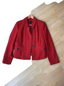 ladies red jacket size 14