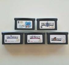 5x Final Fantasy: Tactics Advance, 1 & 2, 4, 5, 6 GAMEBOY GBA/SP/DS Games