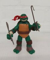 Teenage Mutant Ninja Turtles - Raphael Action Figure Viacom 2012 TMNT Battle Sai