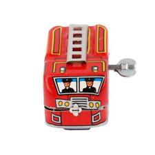 Vintage Clockwork Wind Up Metal Bus Tinplate Toys Collectable Gift