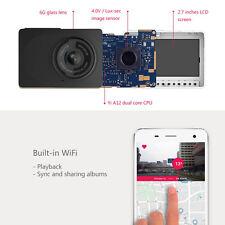 "Original Xiaomi Yi 2.7"" LCD HD 1080P WIFI Car Camera Dash Cam DVR Black Box B85"