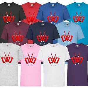 New Kids Chad Wild Clay CWC Ninja T-Shirt Youtuber Gamers Tee Top Minecart 1-15