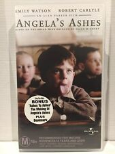ANGELA'S ASHES by FRANK McCOURT~ EMILY WATSON, ROBERT CARLYLE ~ AS NEW VHS VIDEO