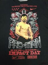 Nike Manny Pacquiao 2XL T-Shirt Dri-Fit Boxing Pac-Man Tee Men's Impact Day