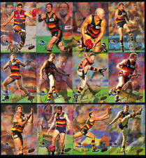 2000 AFL SELECT MILLENNIUM Y2K ADELAIDE CROWS COMMON Trading TEAM SET 12 Cards