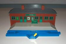 TOMY Thomas Train (Plarail - Blue Track) FFARQUHAR STATION with Stop & Go Track