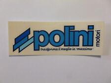 Vecchio Adesivo da Collezione /Old Sticker POLINI MOTORI (cm 12 x 4) blu a