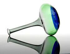 Murano Art Glass Inclamo Bottle Vase Venini Inclamo Design 3 Colours