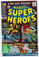 MARVELSUPER-HEROES #1 (Oct 1966) One Shot reprint of DAREDEVIL 1, AVENGERS 2