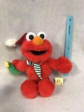 "Mattel Sesame Street TALKING CHRISTMAS ELMO 15"" Stuffed Animal"