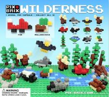 Pix Brix Wilderness 50 capsule building toys (vending machine)