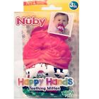 NUBY+Happy+Hands+SANTA+TEETHING+MITTENS+Christmas+Age+3%2B+Mos+%7E+New+in+Package