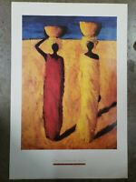 "Tilly Willis ""The Calabash Girls"" Poster Print 36"" x 24"" 2002 Portal Publication"