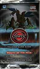 Chaotic Trading Card Game TCG, Zenith of the Hive Booster Pack (9 Cards) NEW