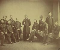 Union Lieutenant General Ulysses S. Grant and Staff New 8x10 US Civil War Photo