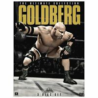 WWE - GOLDGERG - THE ULTIMATE COLLECTION - 3-DVD SET -very good