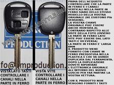 Chiave scocca-guscio-cover key YARIS COROLLA senza LOGO con lama 8mm speculare