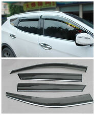 For Hyundai IX45 Santa Fe 2013 2014 + Window Visor Rain Sun Guard Vent New