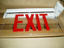 Sure-Lights Es Series L.E.D. Edge-Lit Exit Sign