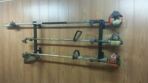 Brand New Enclosed Trailer Trimmer Rack Weed Eater Holders...That Holds Three!!