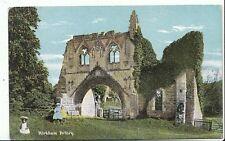 Yorkshire Postcard - Kirkham Priory  U110
